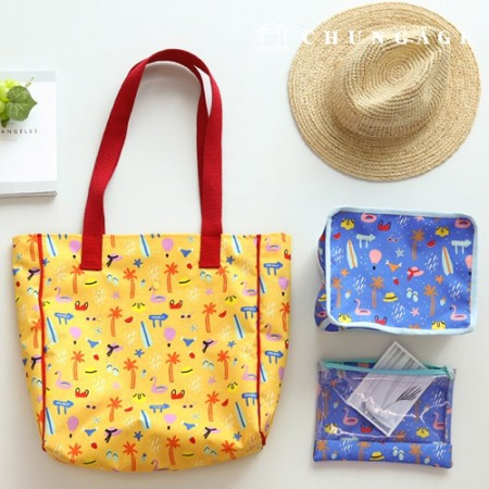Bag fabric, bag paper, holiday vacation, waterproof cloth, poly-wide 2 types