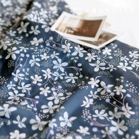 Poly Silk Fabric Silk Supreme Wide 023 Evening Flower
