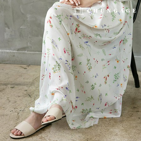 Poly Silk Fabric Silk Supreme Wide 025 Vivid Spring