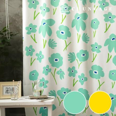simple blackout cloth, popcorn flower blackout fabric, curtain cloth, curtain fabric, curtain cloth, 2 types
