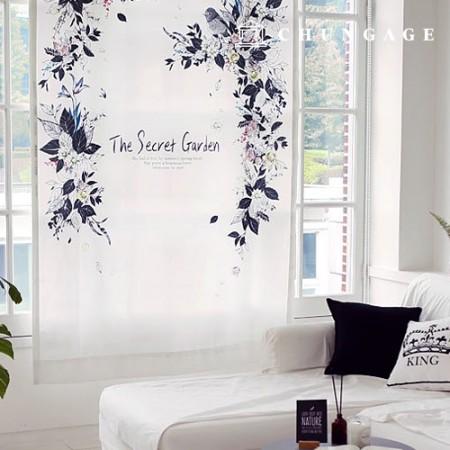 simple blackout cloth The secret garden blackout fabric curtain fabric curtain fabric curtain fabric