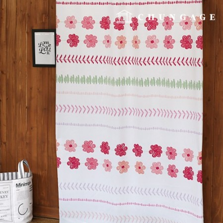 3medium Blackout Cloth Flower Girl Blackout Fabric Curtain Cloth Curtain Fabric Curtain Cloth 019
