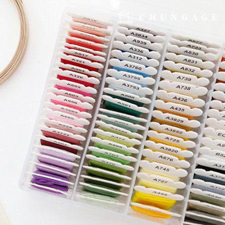 French embroidery embroidery thread set 80 colors set