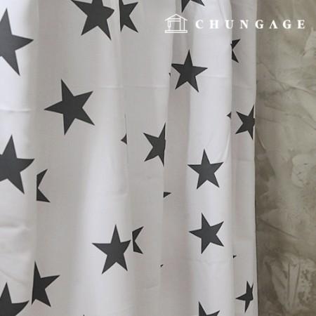 3medium blackout cloth Nordic star blackout cloth curtain cloth curtain cloth curtain cloth 005