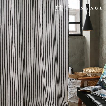 3medium blackout cloth Nordic line blackout fabric curtain cloth curtain fabric curtain cloth 001