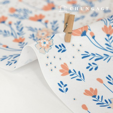 Felt Paper DTP Lavita Ebella Non-adhesive Flower Pattern Felt Paper 162
