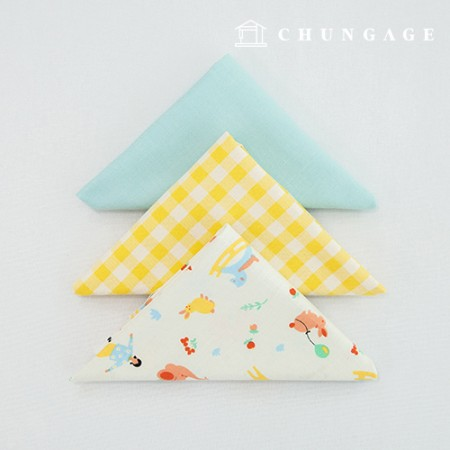 Fabric Package It's Package 078 Enjoy Things 1/4Hermp 3 Pack