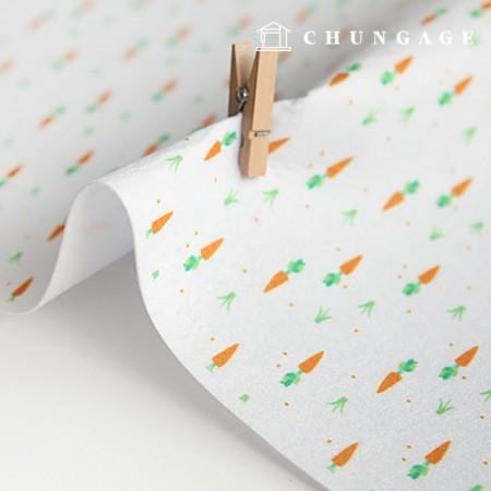 Felt Paper DTP Carrot Non-Adhesive Carrot Pattern Felt Paper 173