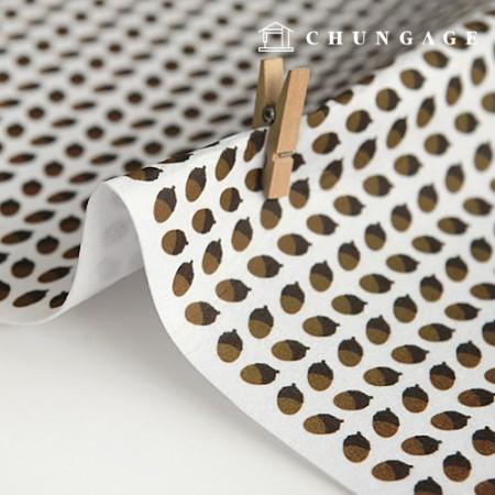 Felt Paper DTP Acorn Non-Adhesive Patterns Pattern Felt Paper 175