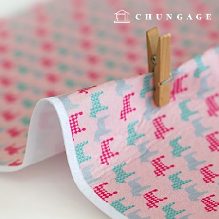 Felt Paper DTP Truffle Non-Adhesive Unicorn Pattern Felt Paper 196