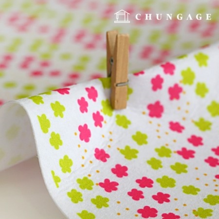 Felt Paper DTP Flower Lane Non-adhesive Floral Pattern Felt Paper 202