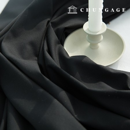 TR Span Wide Fabric Suit Fabric Black