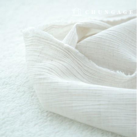 Linen Rayon Hermp Yoru Plain Natural