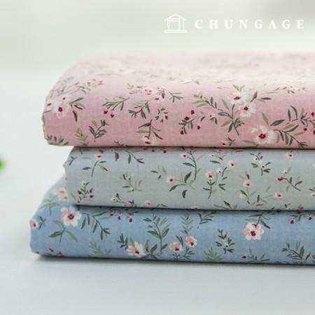 Semi-microfiber fabric, largely dust-free fabric, chamomile, 3 types