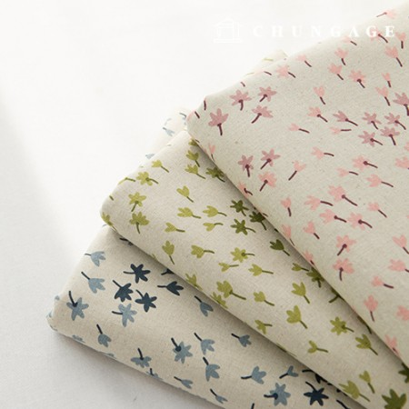 Linen 11-stitch fabric, 3 types of breeze