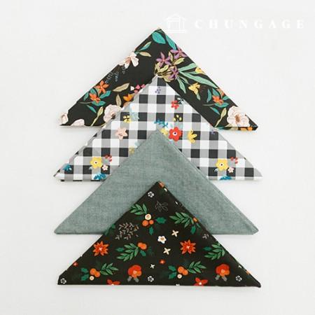 Fabric Package It's Package 063 Night Garden 1/4Hermp 4 Pack