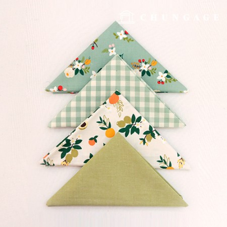 Fabric Package It's Package 066 Mint Berry 1/4Hermp 4 Pack
