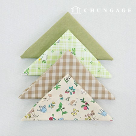 Fabric Package It's Package 068 Little Friends in the Forest 1/4Hermp 4 Pack