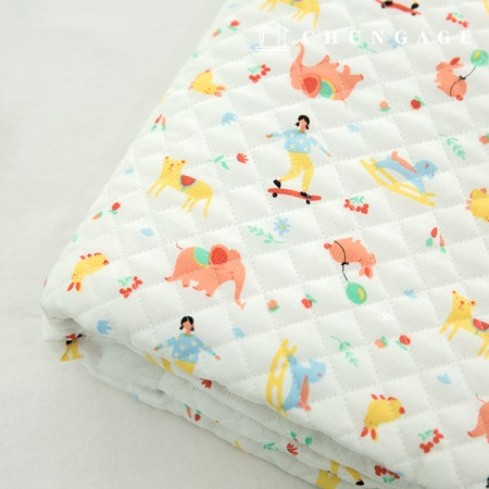 Human silk fabric Refrigerator fabric Non-fluorescent fabric Smoked material quilting fabric Holiday