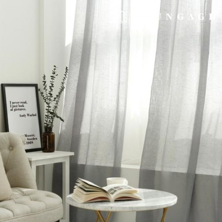 Wide 270cm Linen Gauze Fabric Inner Curtain Highly recommended 2 types