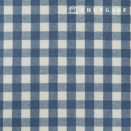 Waterproof Fabric Laminate Non-toxic TPU Waterproof Fabric Wide Melange Check Fabric Blue 413