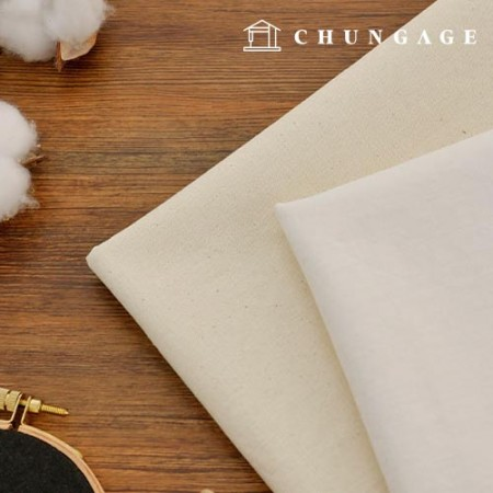 Washing Cotton Fabric 17 Number Cotton Fabric Natural whiteivory
