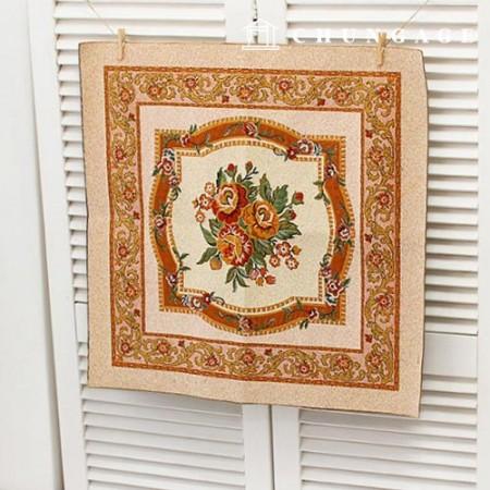 Cut paper ethnic style Shah organization antique cushion cushion 58cm x 58cm