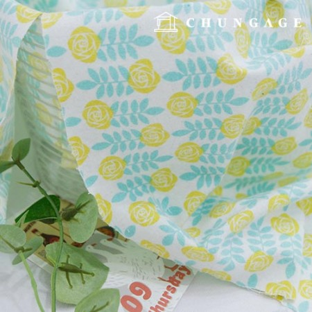Cotton brushed microfiber fabric spring day