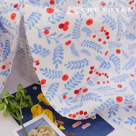 Cotton brushed microfiber fabric, fruity pop