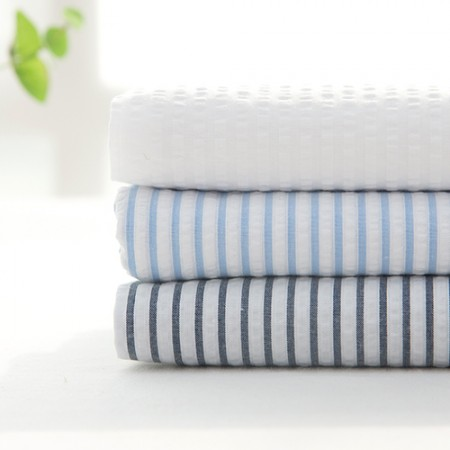 Stripe Ripple Jijimi Fabric Summer Fabric Moss 0.5cm 3 Types