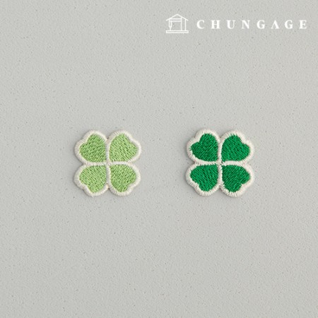 Adhesive Waffen Small Clover Waffen Four-leaf Clover Waffen 2 Types 138