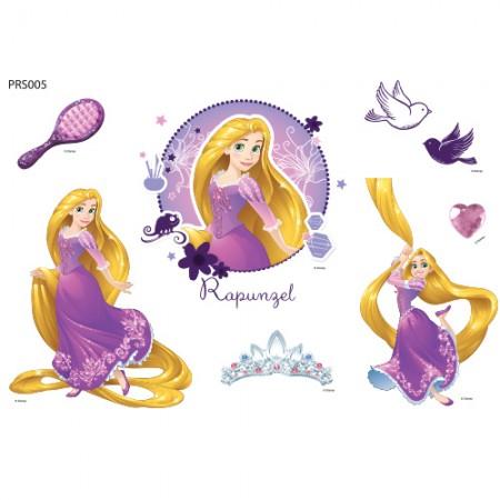 Clothing Transfer Paper Twinkle Rapunzel Eco Bag Reform Thermal Transfer Film Sticker PRS005