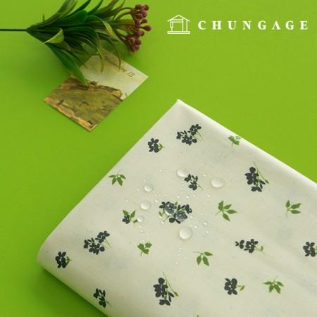Waterproof Fabric Non-toxic TPU Laminate Fabric Mini Delphinium