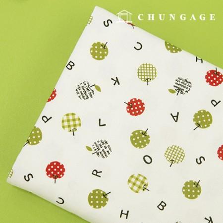 Cotton Fabric 20 count Oxford Applebet 973