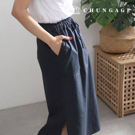 Clothes Pattern Women's Skirt Waist Banding Skirt Skirt Pattern P1531