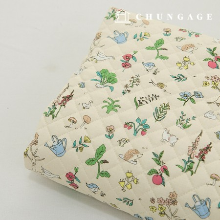 Cotton 20 hand plain weave fabric quilting fabric Tiny Village