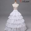 【送料無料】ドレス ワンピース コスプレ 4段パニエ 白色