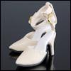 Fashion doll Size - Delightful Heels(Cream)