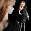 Fashion Doll Size : Tulip Dress (Black)-LE30