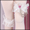 MSD - Stocking Chain Lace Band (White)