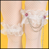 SD - Stocking Chain Lace Band (White)