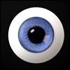 26mm Glass Eye (Light Violet) - A