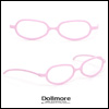 SD - Shape Steel Lensless Frames (Pink)