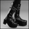 Glamor Model - Newrock Boots (Black)
