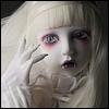 Dollpire Kid Girl - Ice Glass Side ; White Grammy - LE44