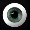 26mm Glass Eye (Green) - A