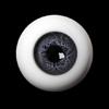 18mm Glass Eye (Gray)