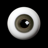 26mm -PP Solid Half Round Low Dome Glass Eyes (Gray Purple 25)
