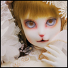 Catish Girl Doll - Klasse Cancan ; White Rose Reaa - LE15