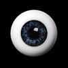 20mm Half-Round Acrylic Eyes (Cobalt)
